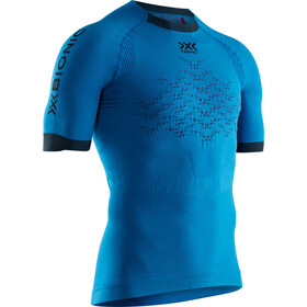 X-Bionic The Trick G2 Run Shirt SS Men teal blue/dark ruby